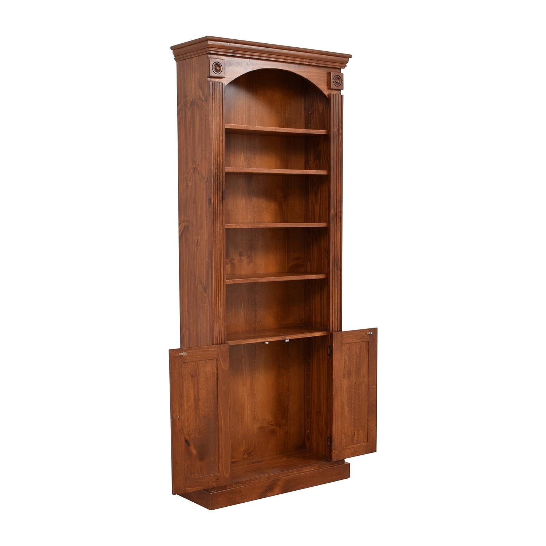 buy Gothic Cabinet Craft Five-Shelf Bookcase Gothic Cabinet Craft