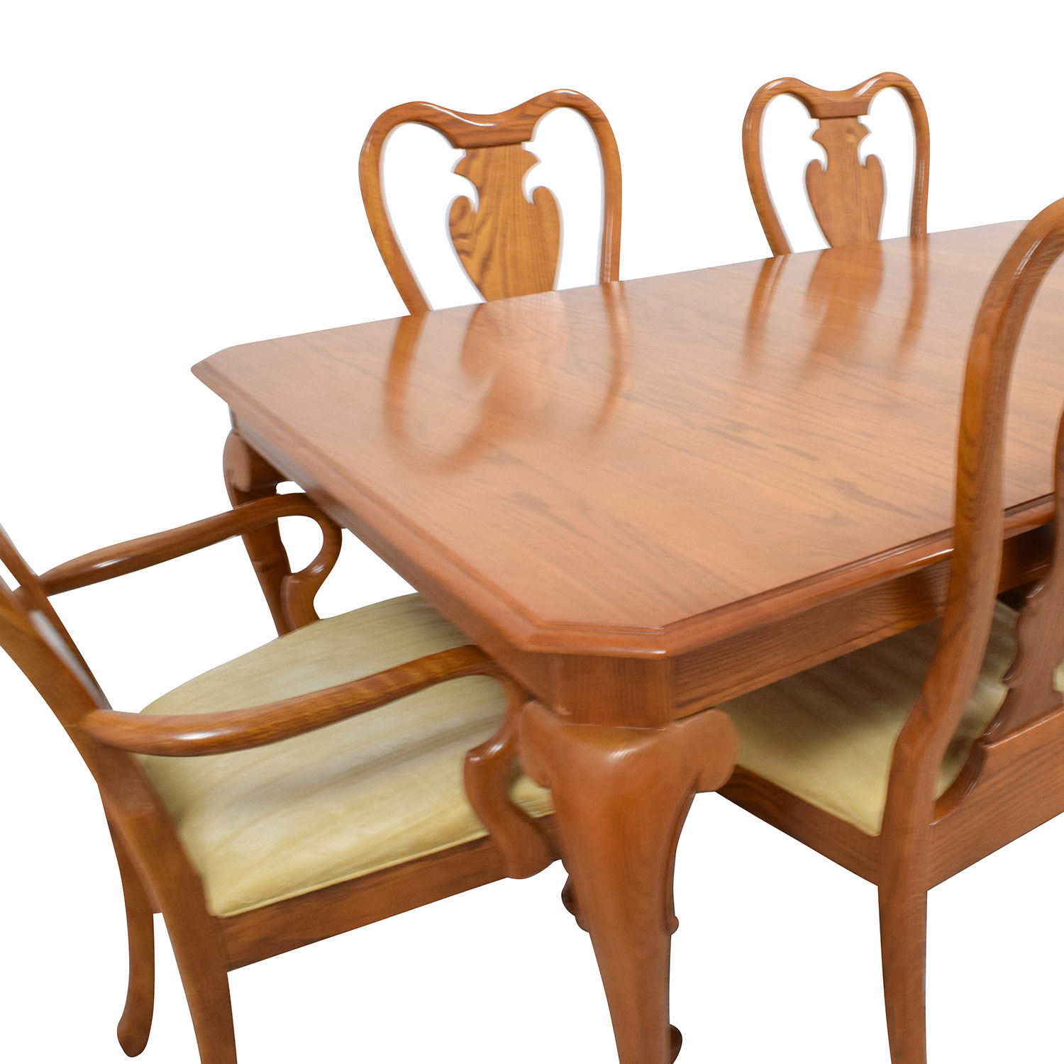 Classic Six-Piece Wooden Dining Set