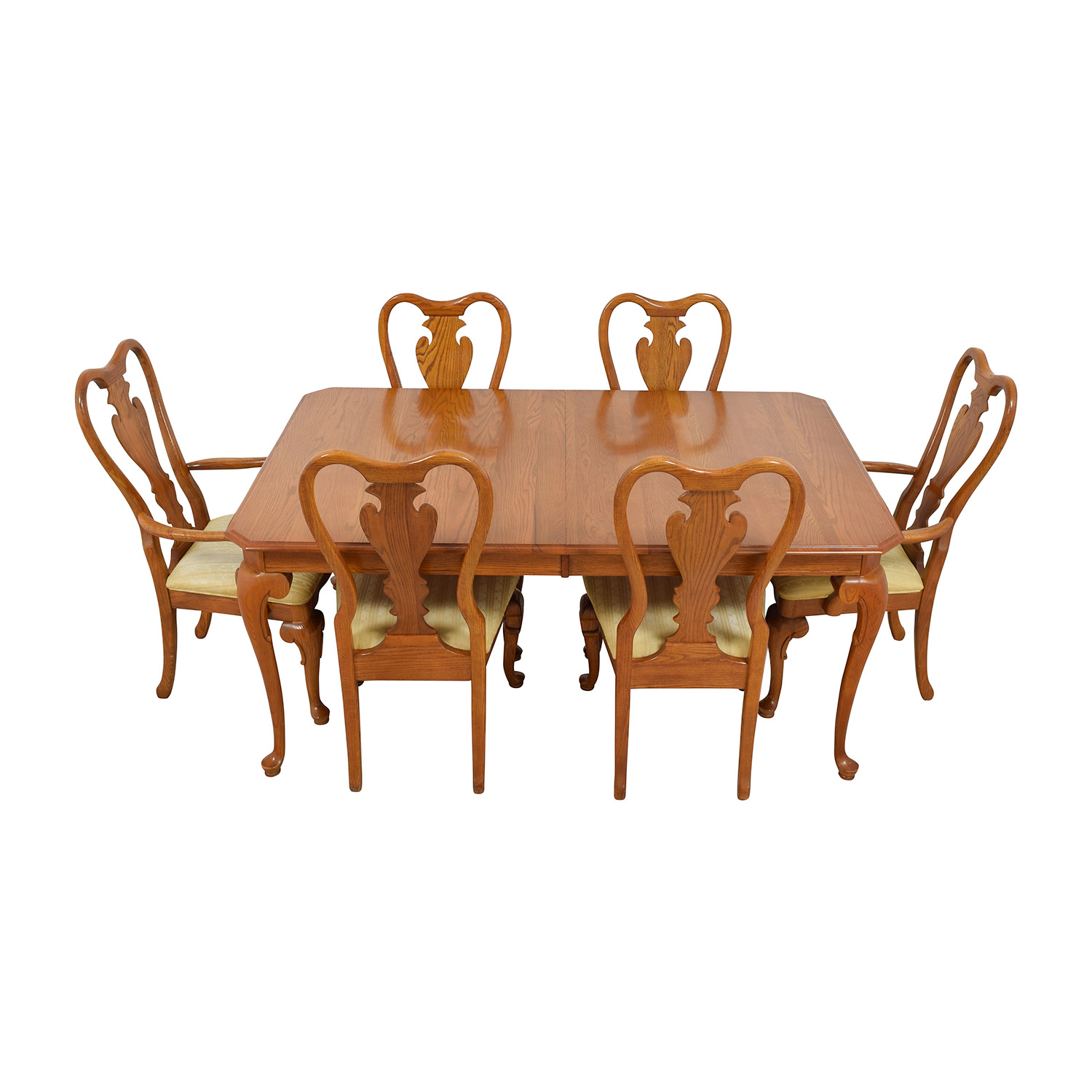 shop Classic Six-Piece Wooden Dining Set