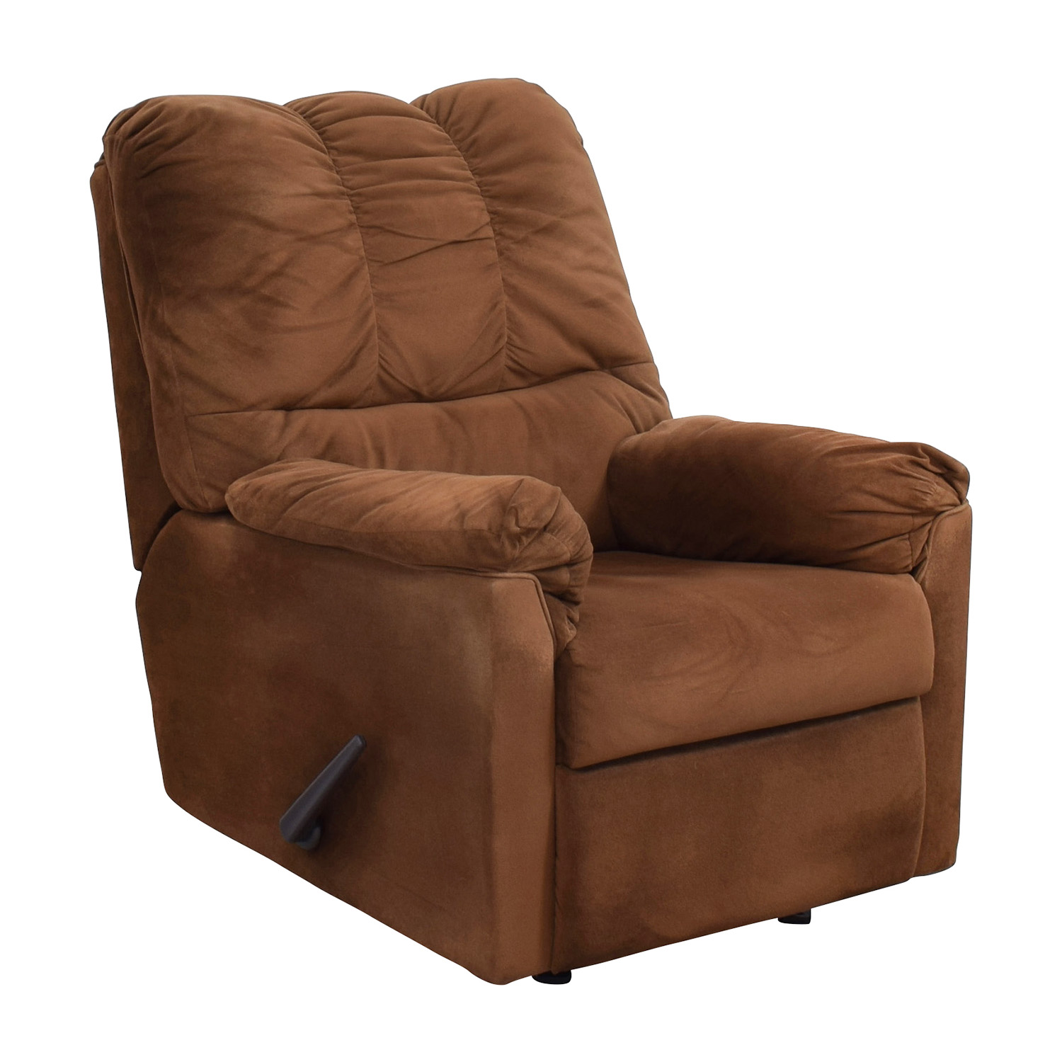 Brown Plush Recliner used