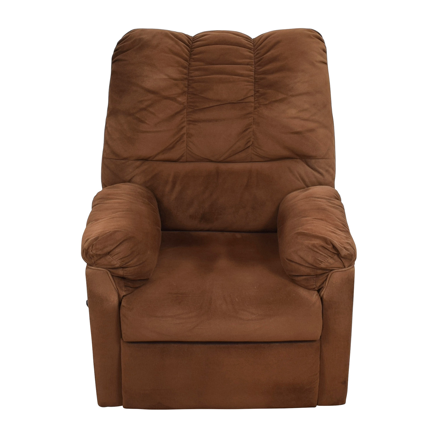 Brown Plush Recliner / Chairs