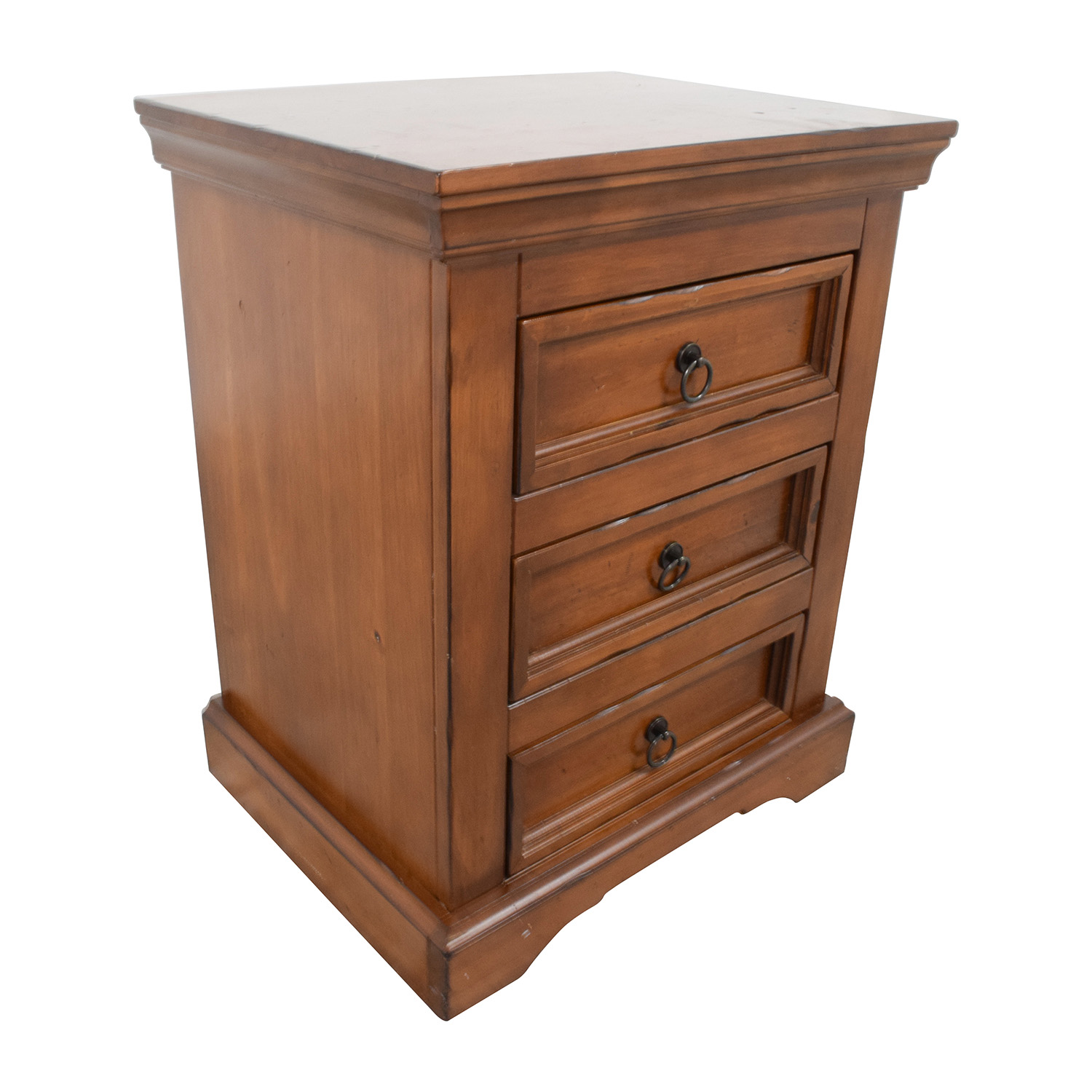 shop Pier 1 Imports Three-Drawer Nightstand Pier 1 Imports Tables
