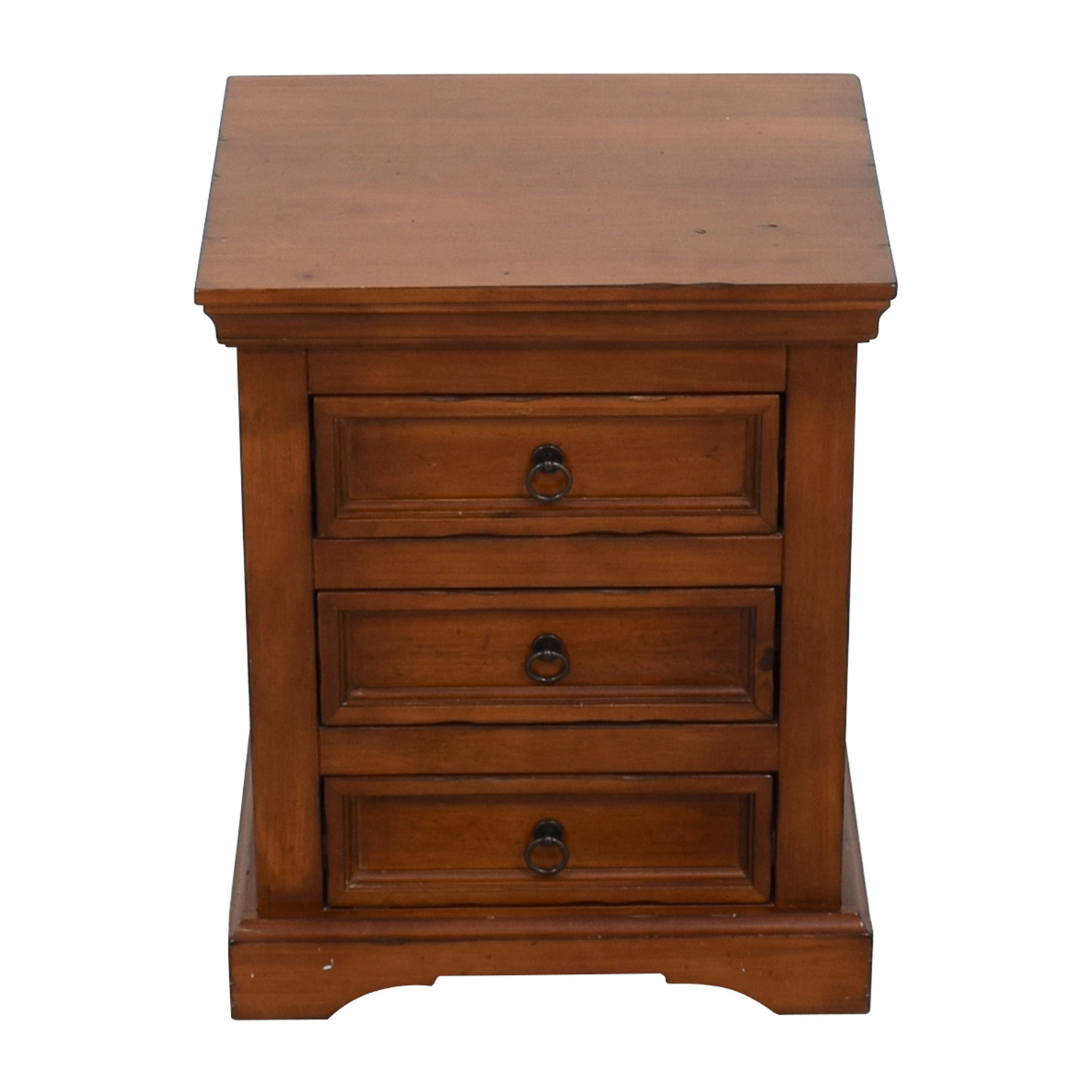 Pier 1 Imports Pier 1 Imports Three-Drawer Nightstand Tables