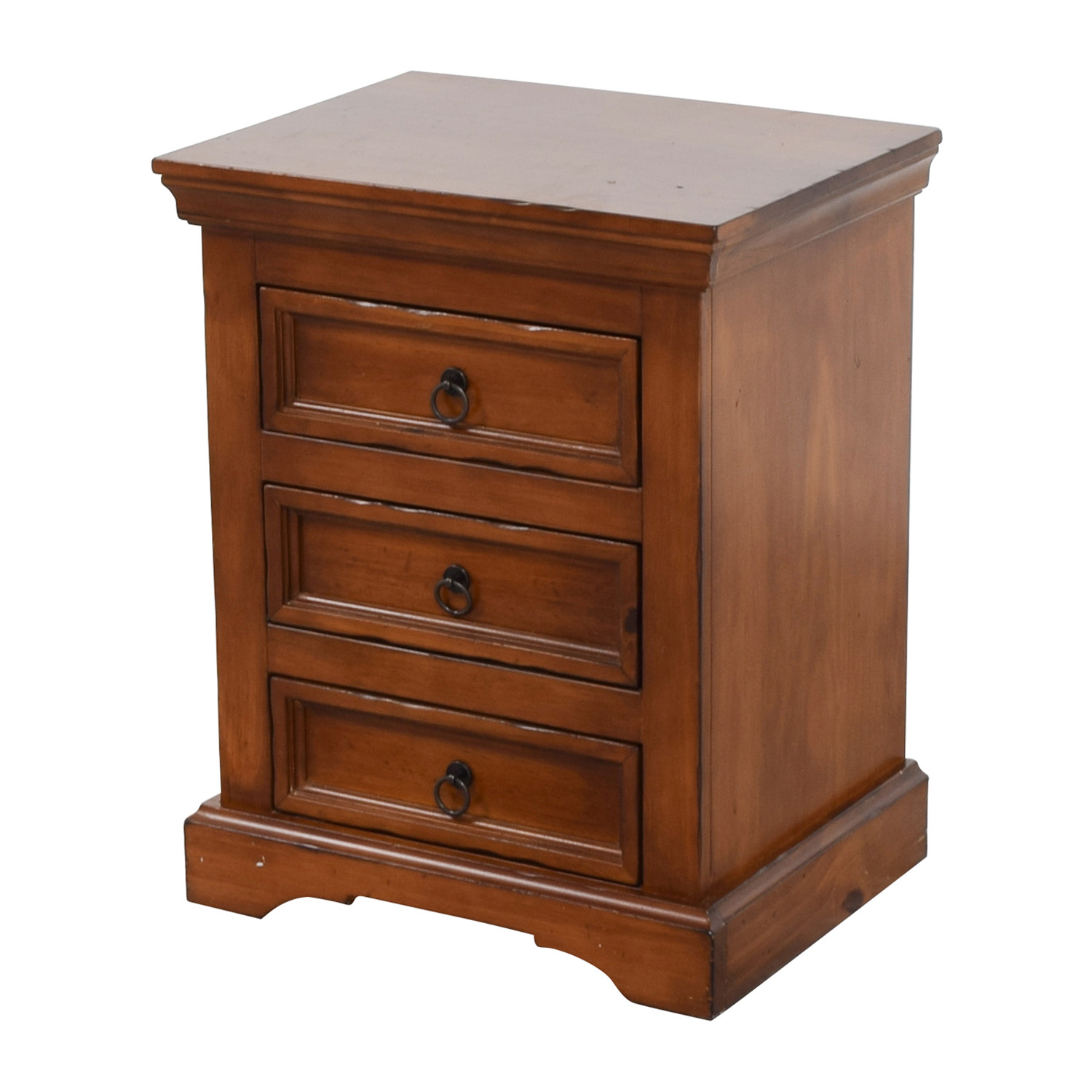 Pier 1 Imports Three-Drawer Nightstand / Tables