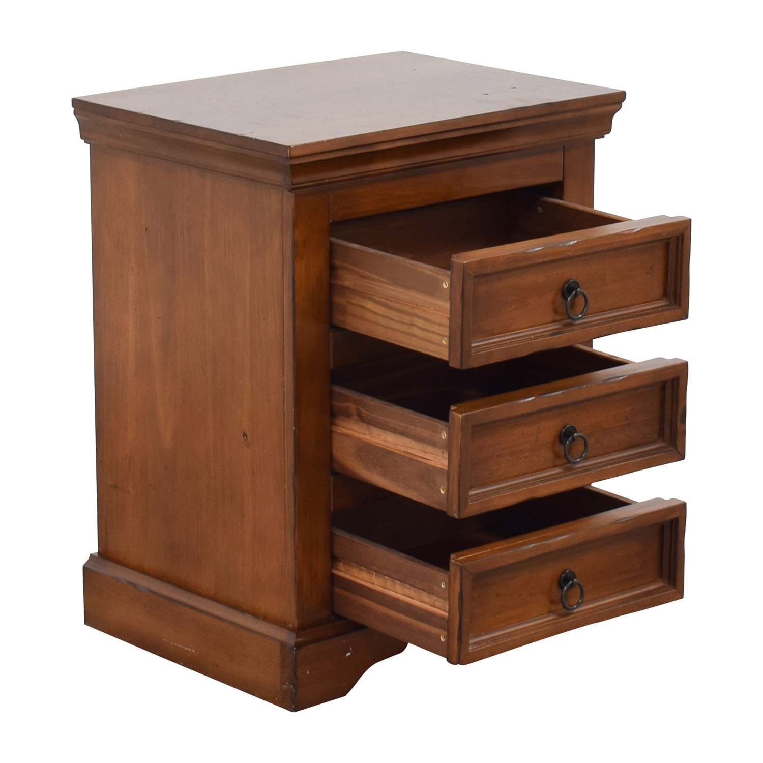 Pier 1 Imports Three-Drawer Nightstand Pier 1 Imports