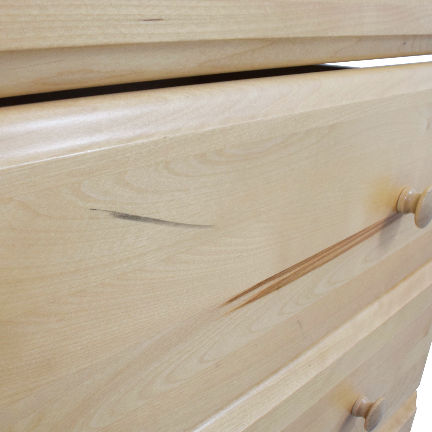 buy Bellini Baby Domani Five-Drawer Dresser in Natural Wood Bellini Storage