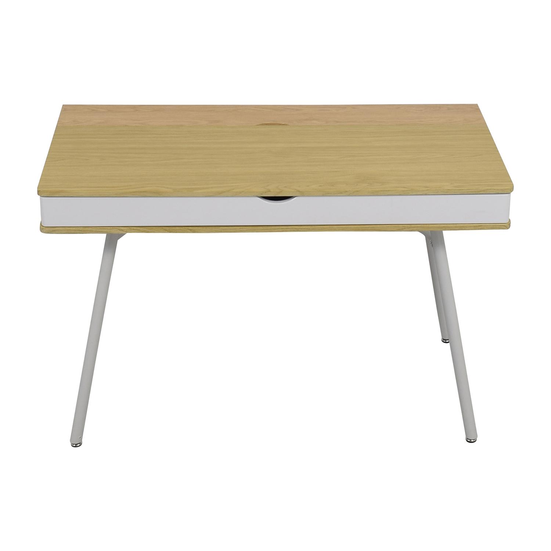 IKEA IKEA White Desk with Wide Storage Drawer nyc
