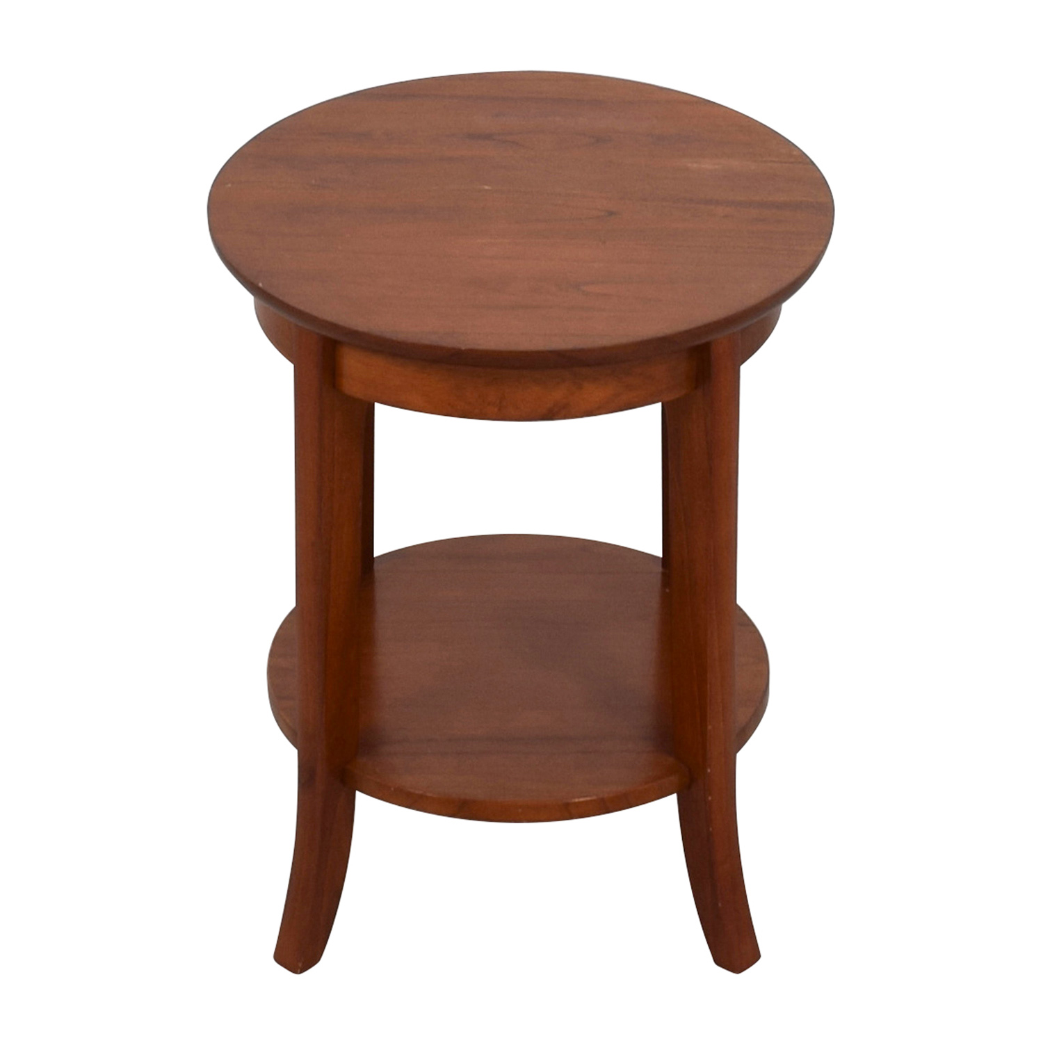 Pottery Barn Pottery Barn Chloe Side Table brown