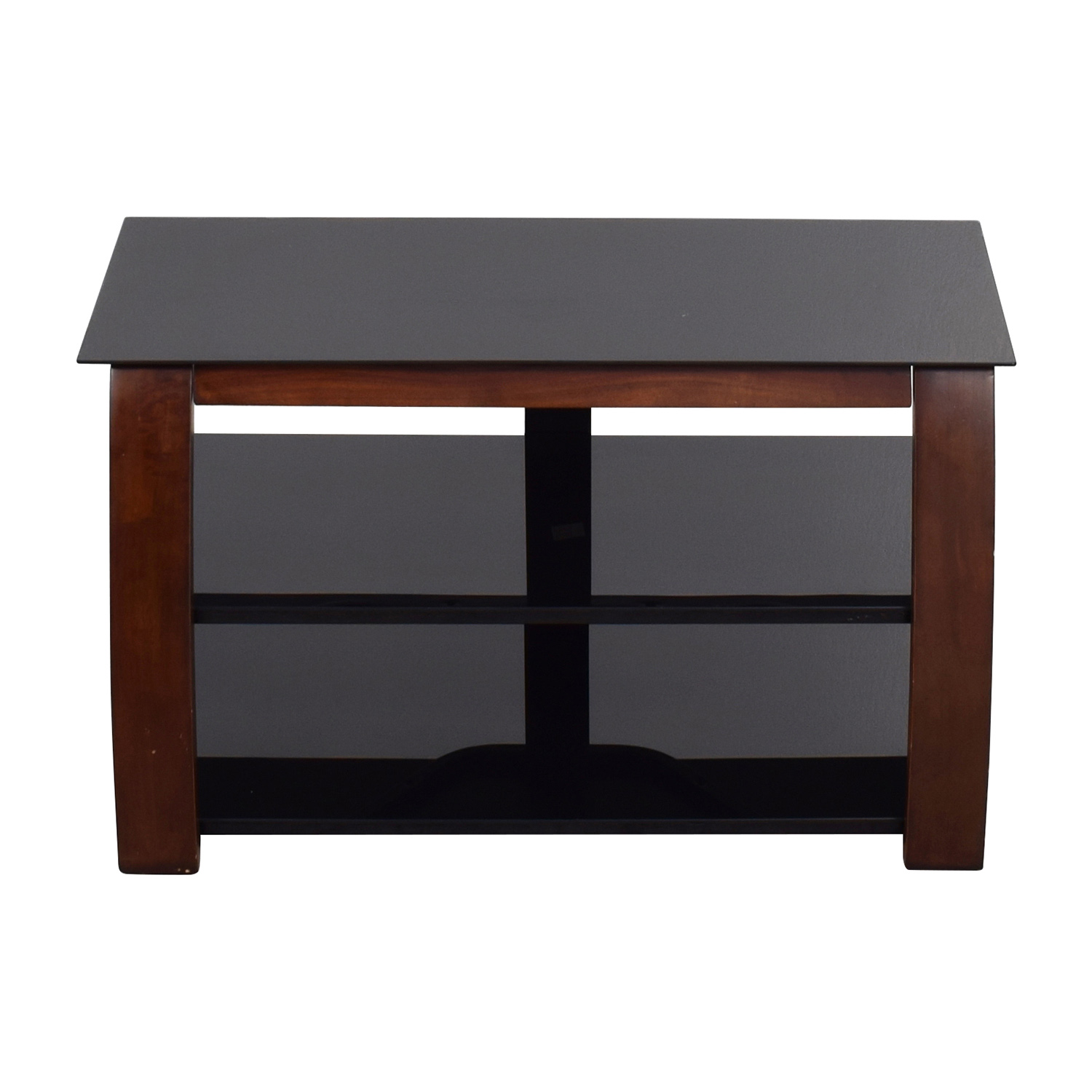 shop Modern Media Stand with Open Shelves online