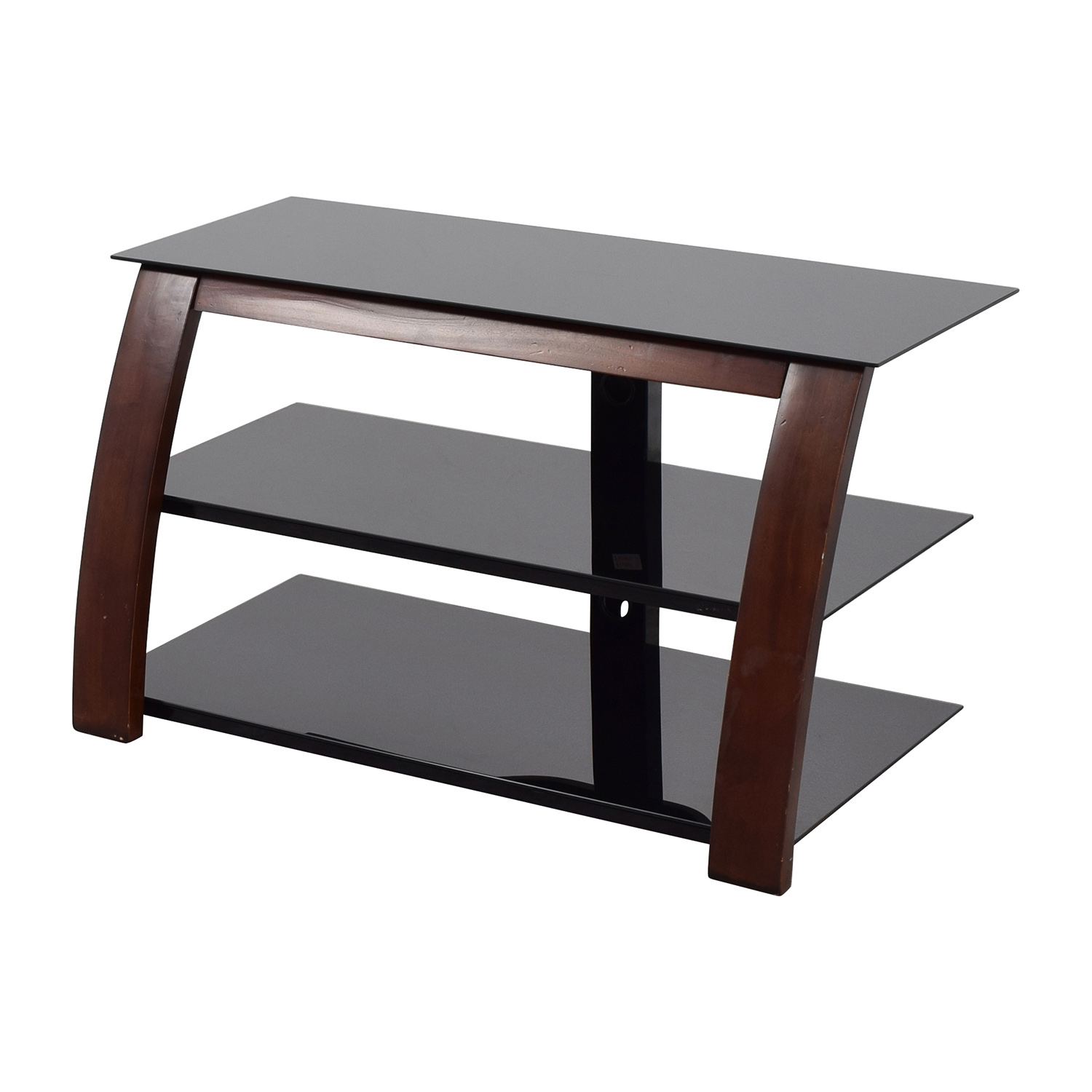shop Modern Media Stand with Open Shelves Media Units