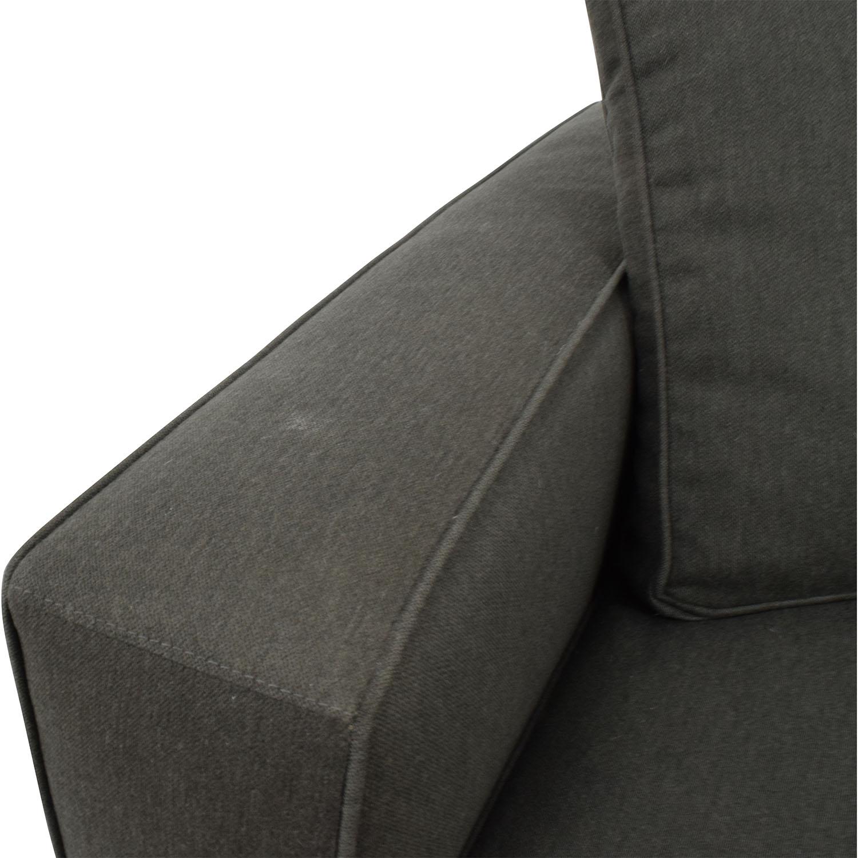 Room & Board Room & Board Metro Sofa in Charcoal Sofas