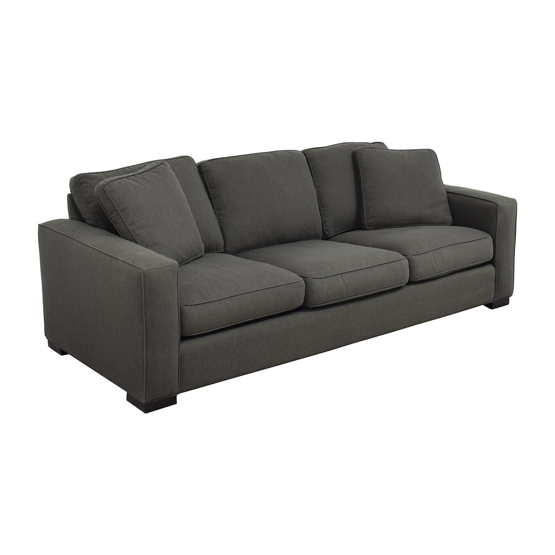 Room & Board Metro Sofa in Charcoal / Sofas
