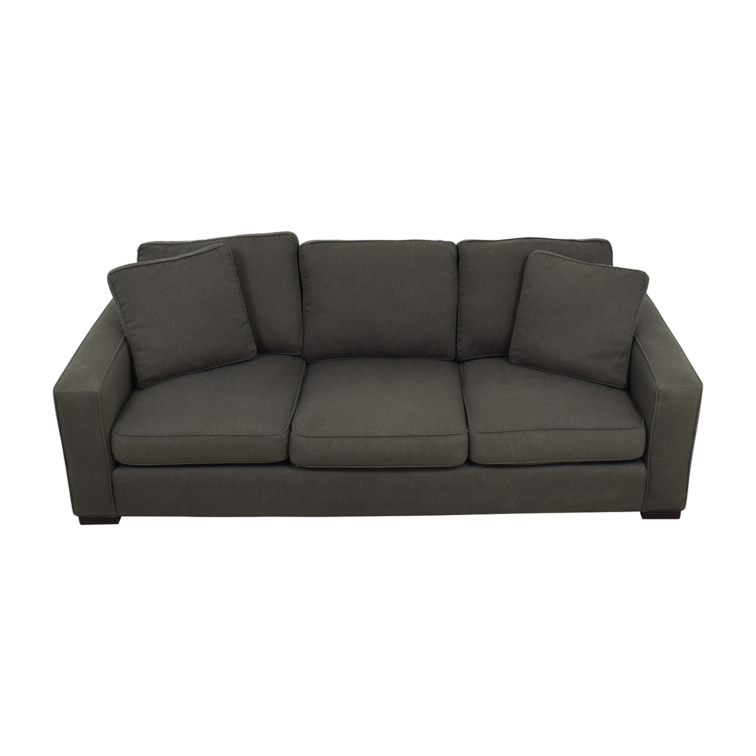 Elegant ... Room U0026 Board Room U0026 Board Metro Sofa In Charcoal ...