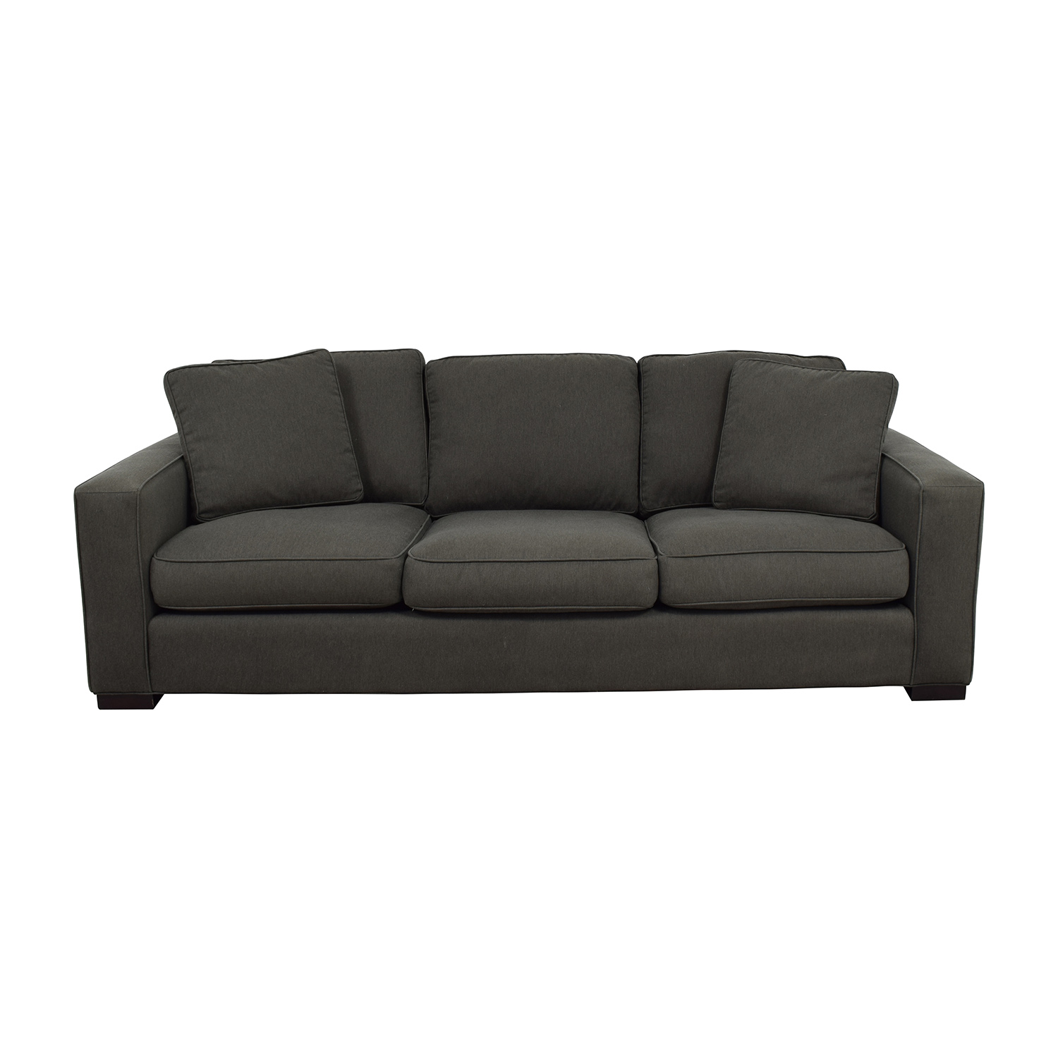 49% OFF - Room & Board Room & Board Metro Sofa in Charcoal / Sofas