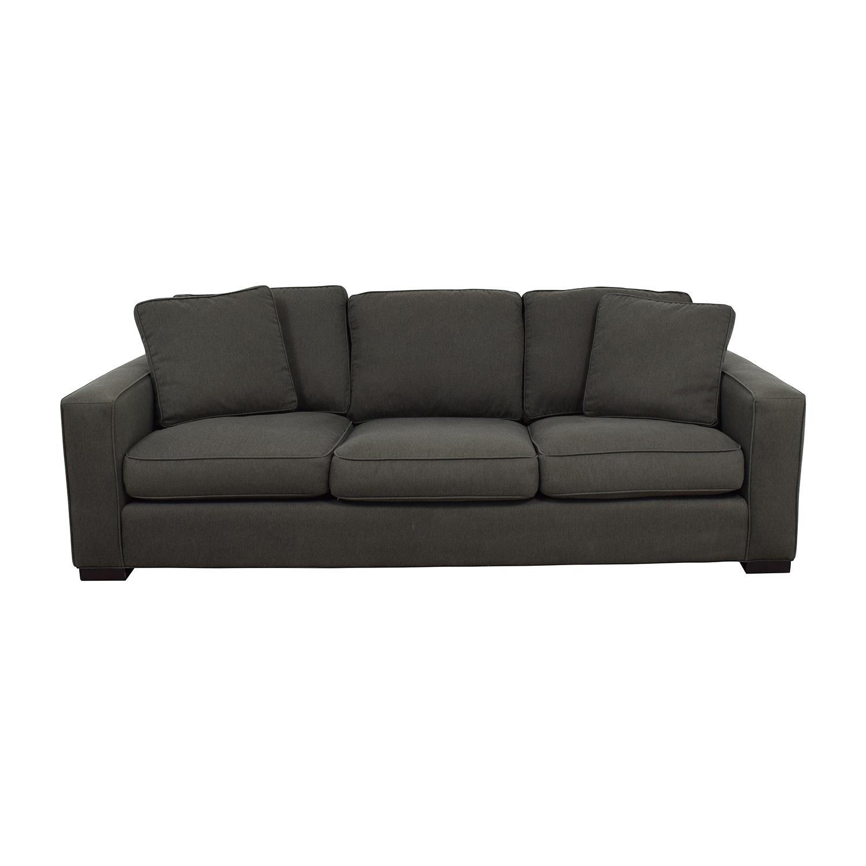 buy Room & Board Room & Board Metro Sofa in Charcoal online