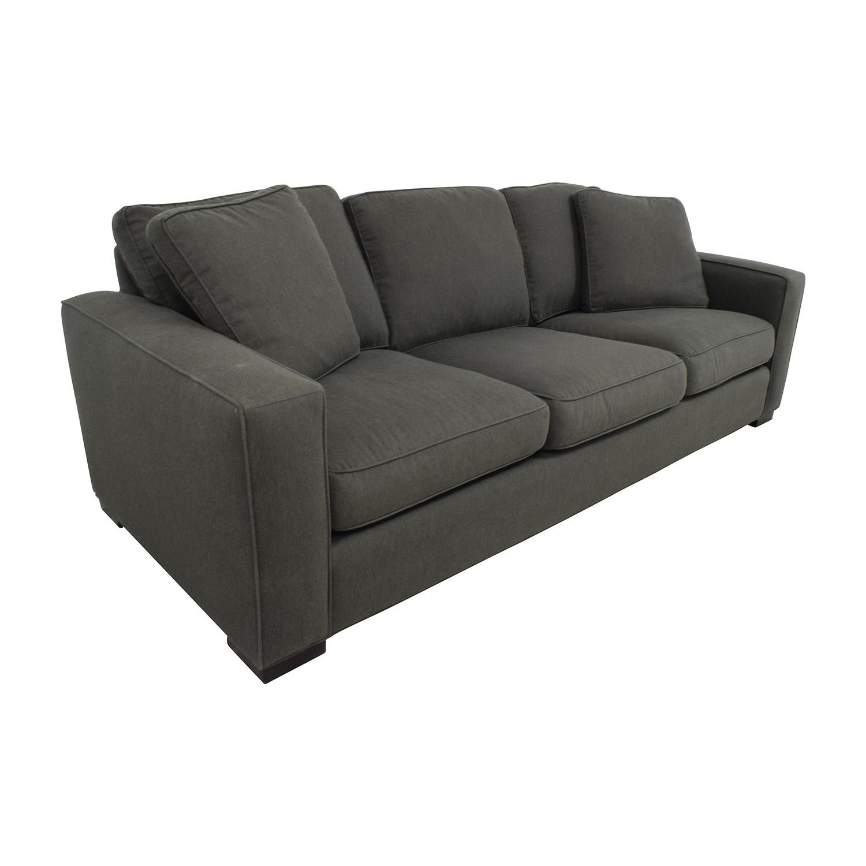 buy Room & Board Metro Sofa in Charcoal Room & Board