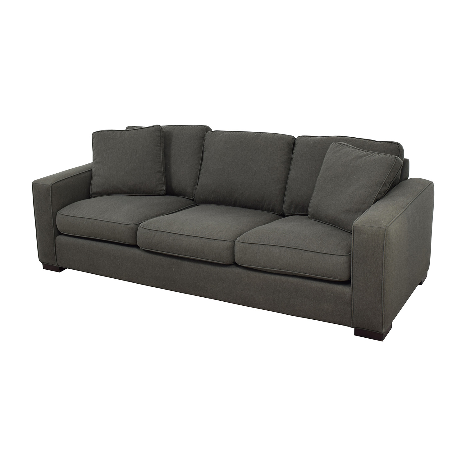 Room & Board Room & Board Metro Sofa In Charcoal