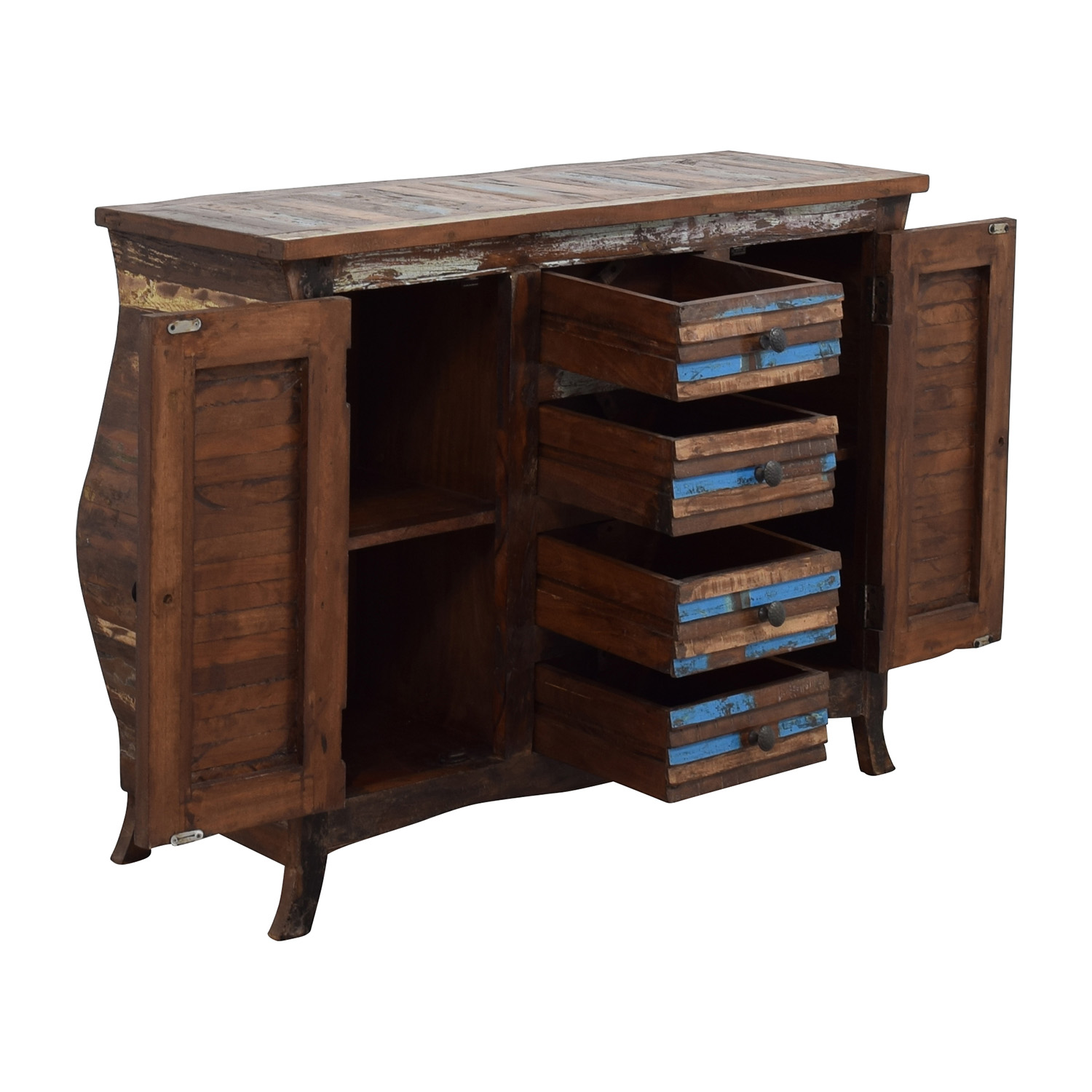 shop Nadeau Colorful Bedroom Dresser Nadeau Dressers