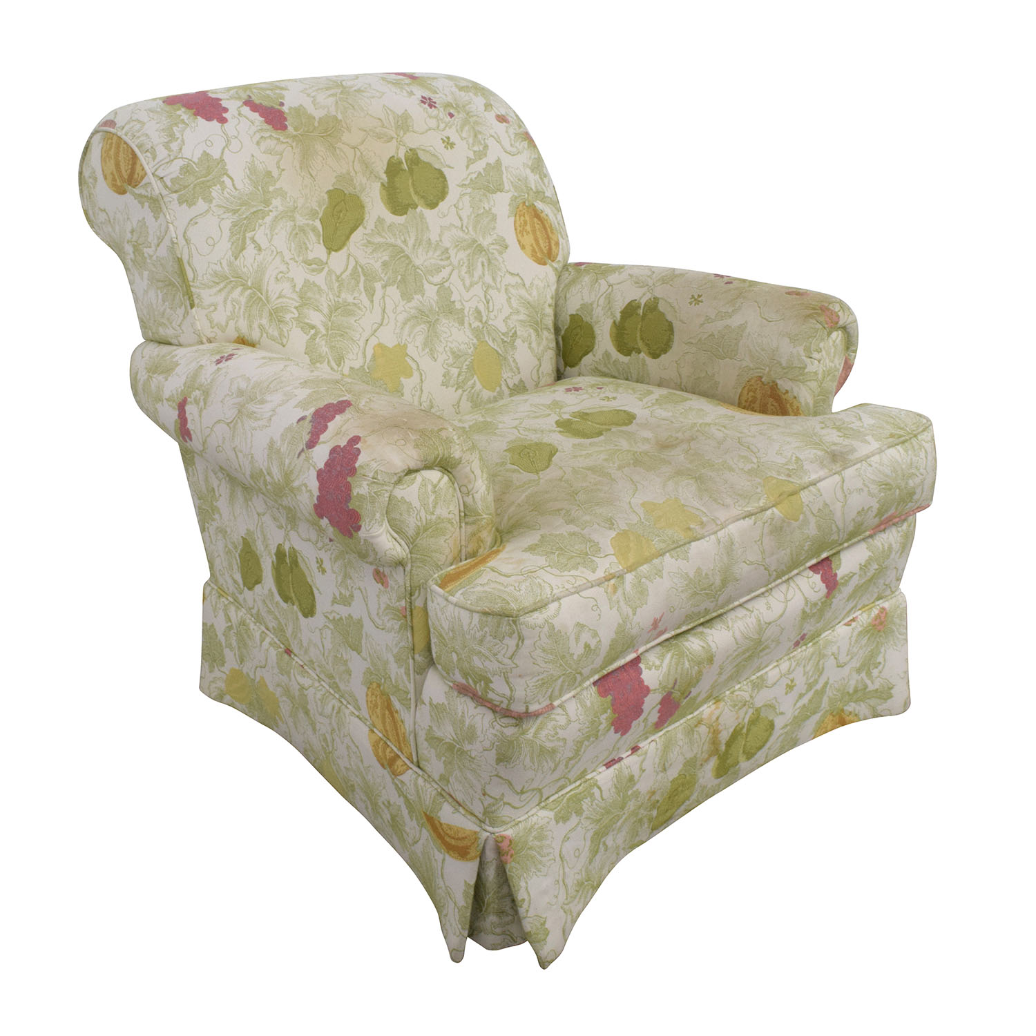 shop Sherrill Sherrill Fruit Patterned Accent Chair online