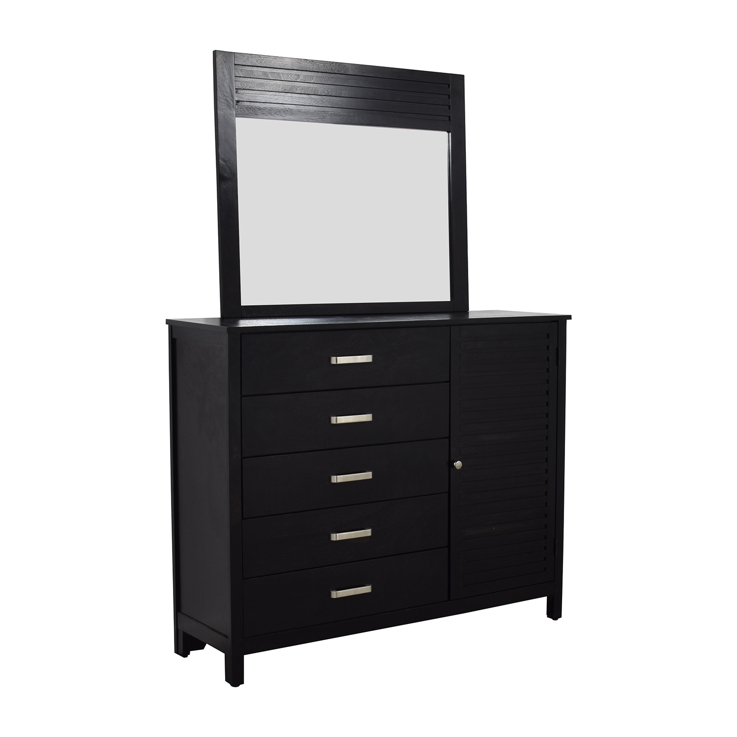 shop Bobs Furniture Dalton Espresso Dresser and Mirror Bobs Furniture