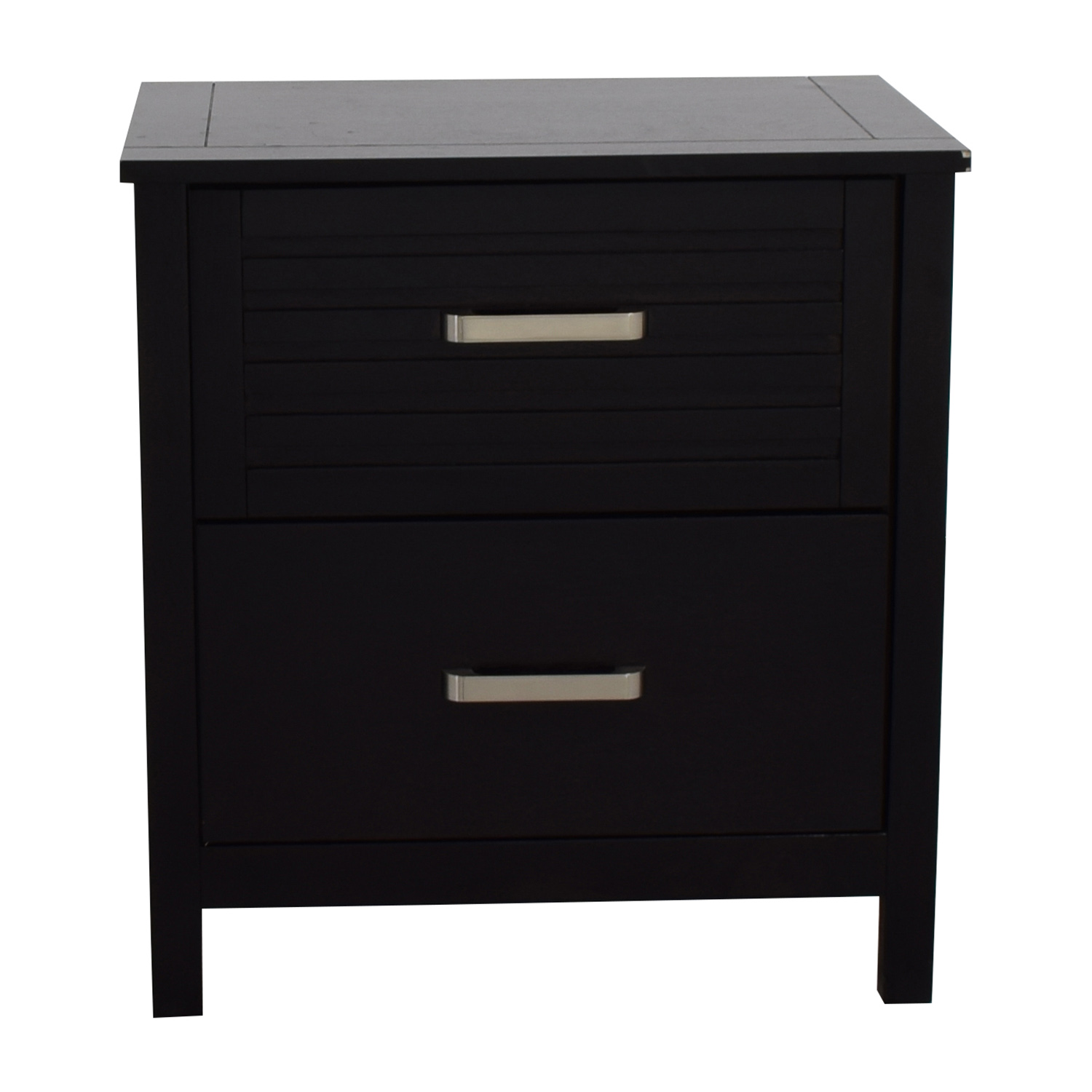 Bobu0027s Furniture Bobu0027s Furniture Dalton Espresso Two Drawer Nightstand Dark  Brown