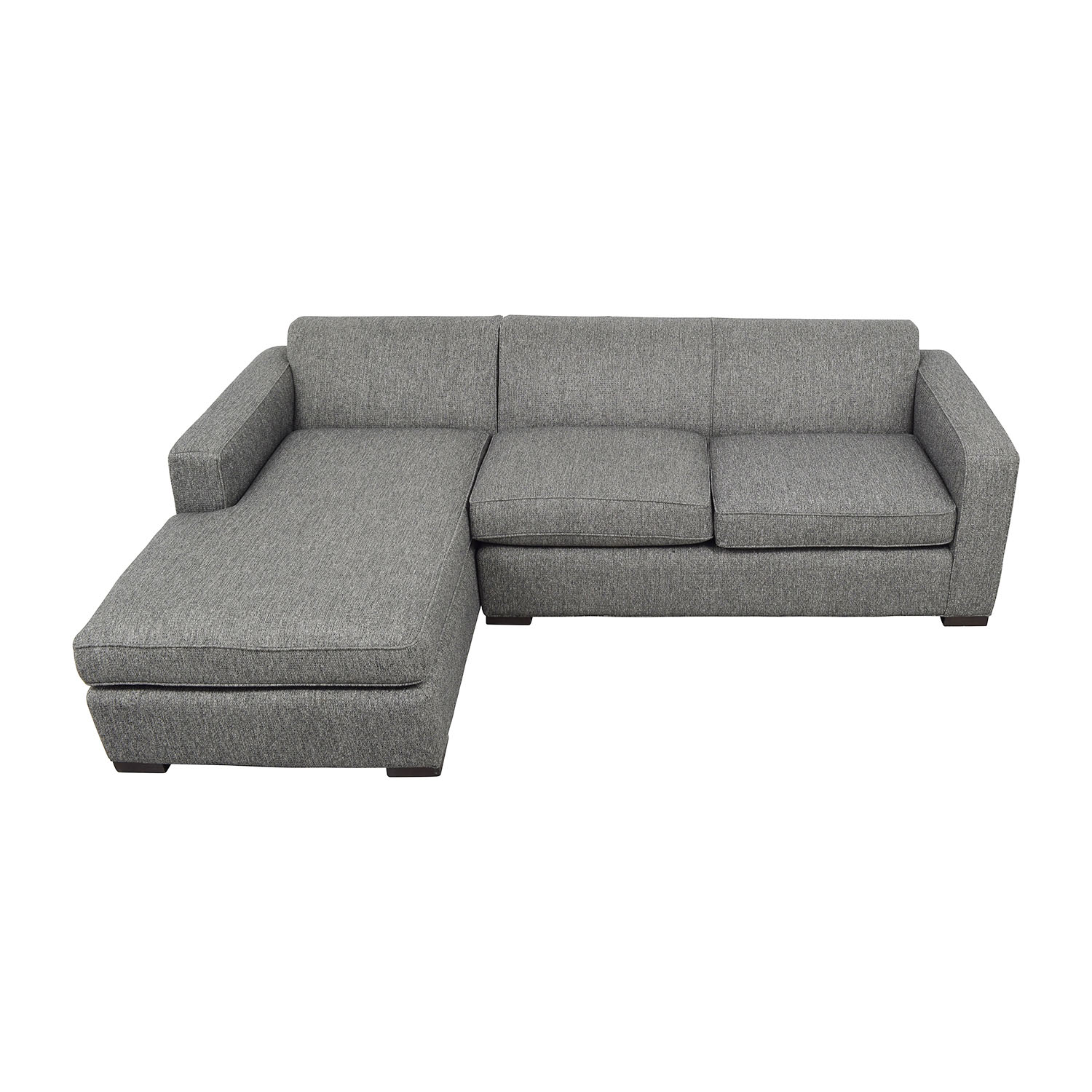 buy Room & Board Easton Sectional in Grey Room & Board Sectionals
