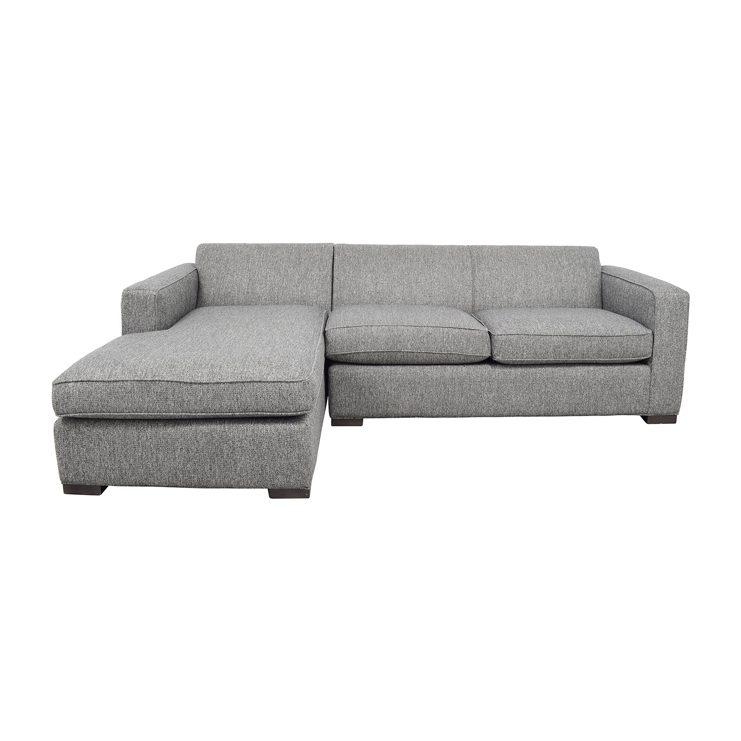 shop Room & Board Easton Sectional in Grey Room & Board Sectionals