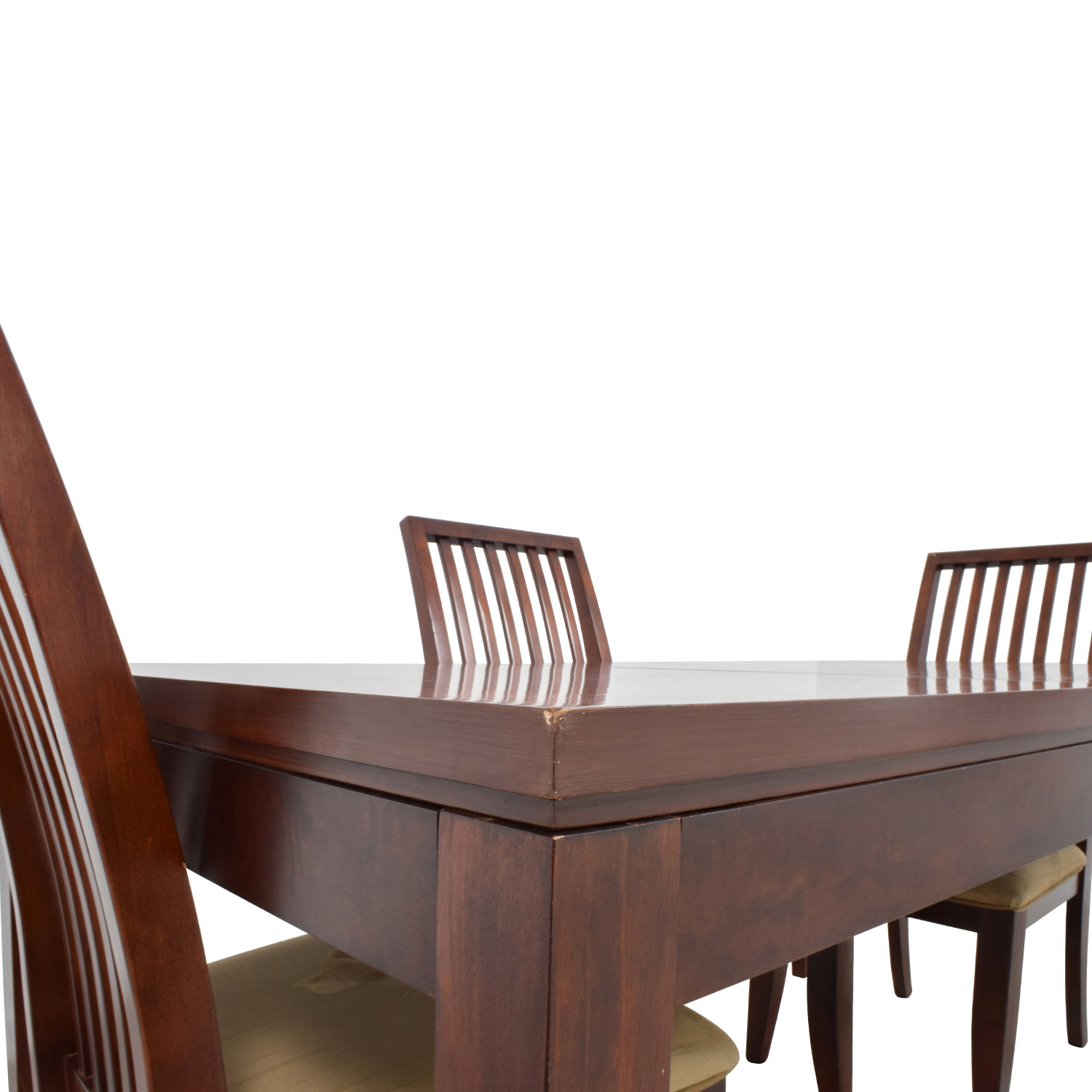 buy Macys Metropolitan Dining Set with Four Chairs Macys Dining Sets