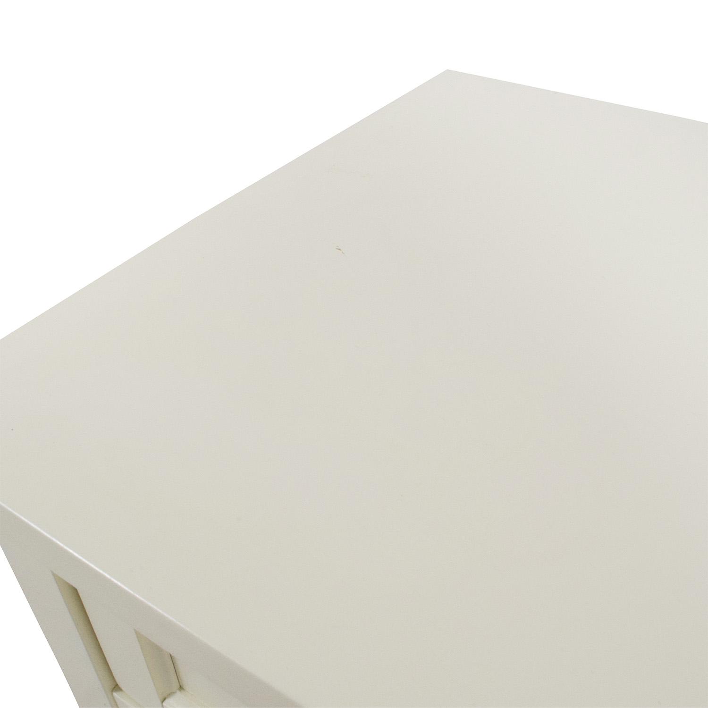 Pottery Barn Pottery Barn Beadboard Bedside Table dimensions
