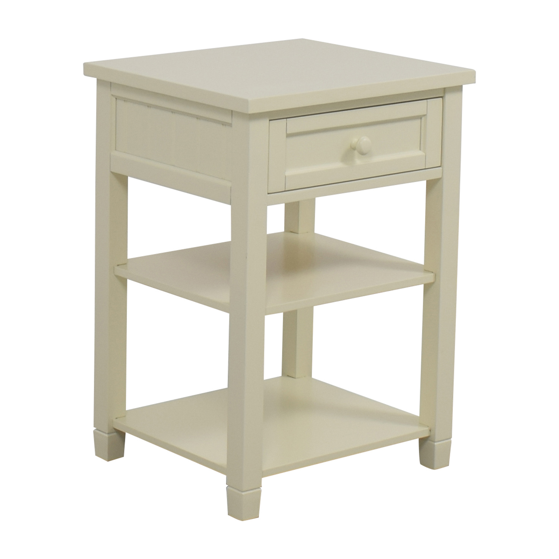 buy Pottery Barn Pottery Barn Beadboard Bedside Table online