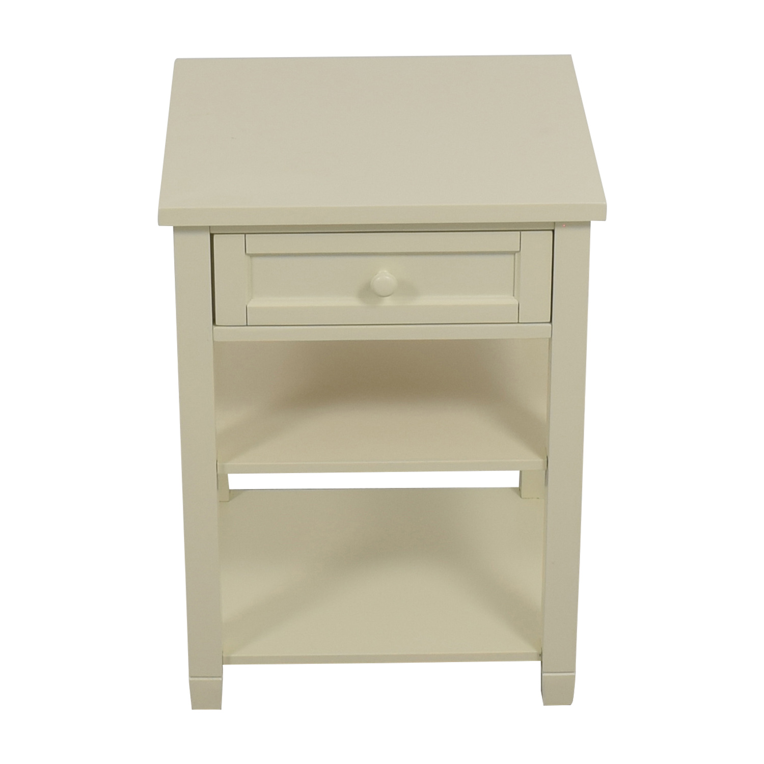 Pottery Barn Pottery Barn Beadboard Bedside Table Tables