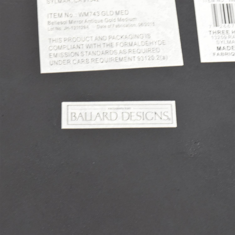 53 off ballard designs ballard designs bellesol medium mirror ballard designs bellesol medium mirror sale