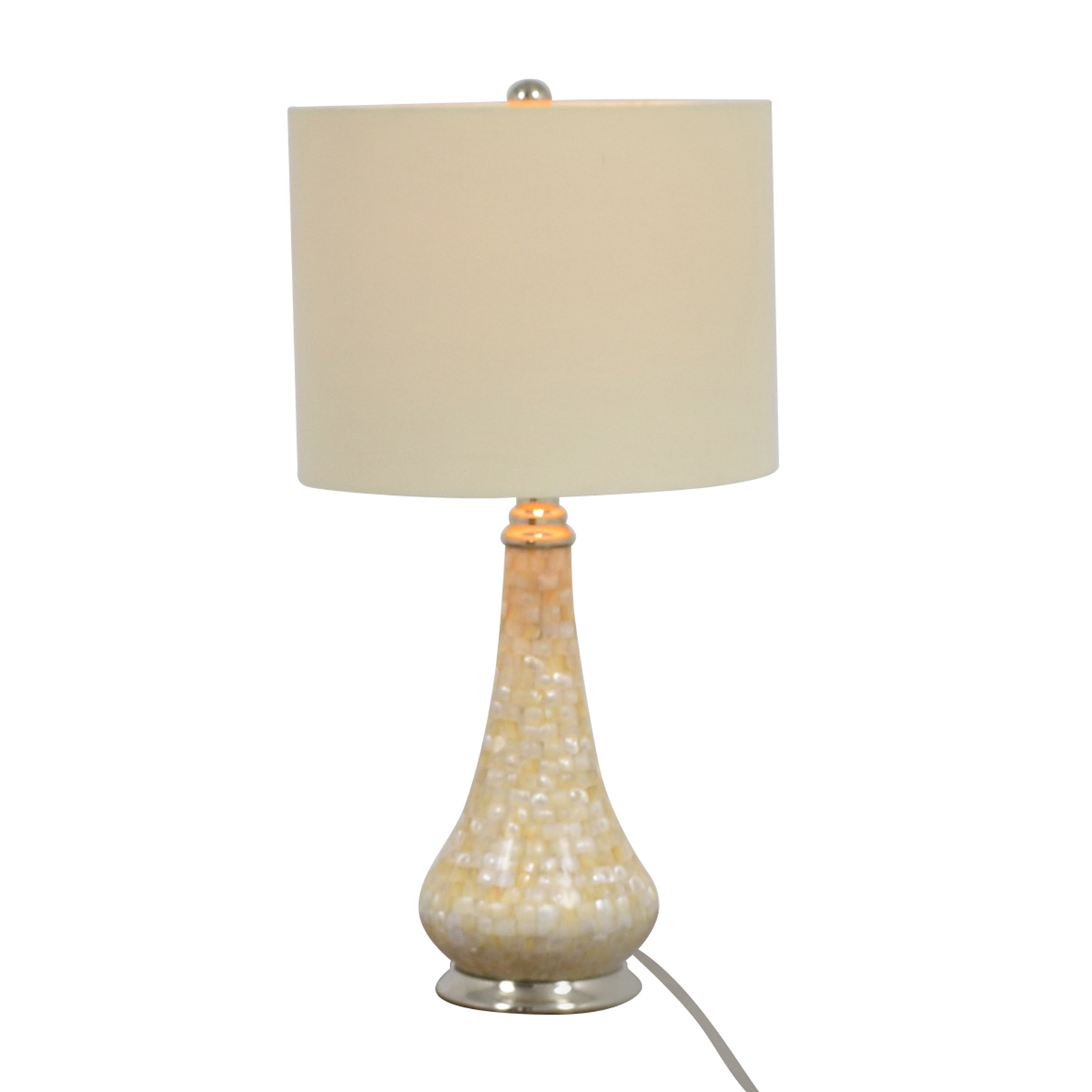 Pier 1 Imports Pier 1 Imports Mother-of-Pearl Accent Lamp for sale