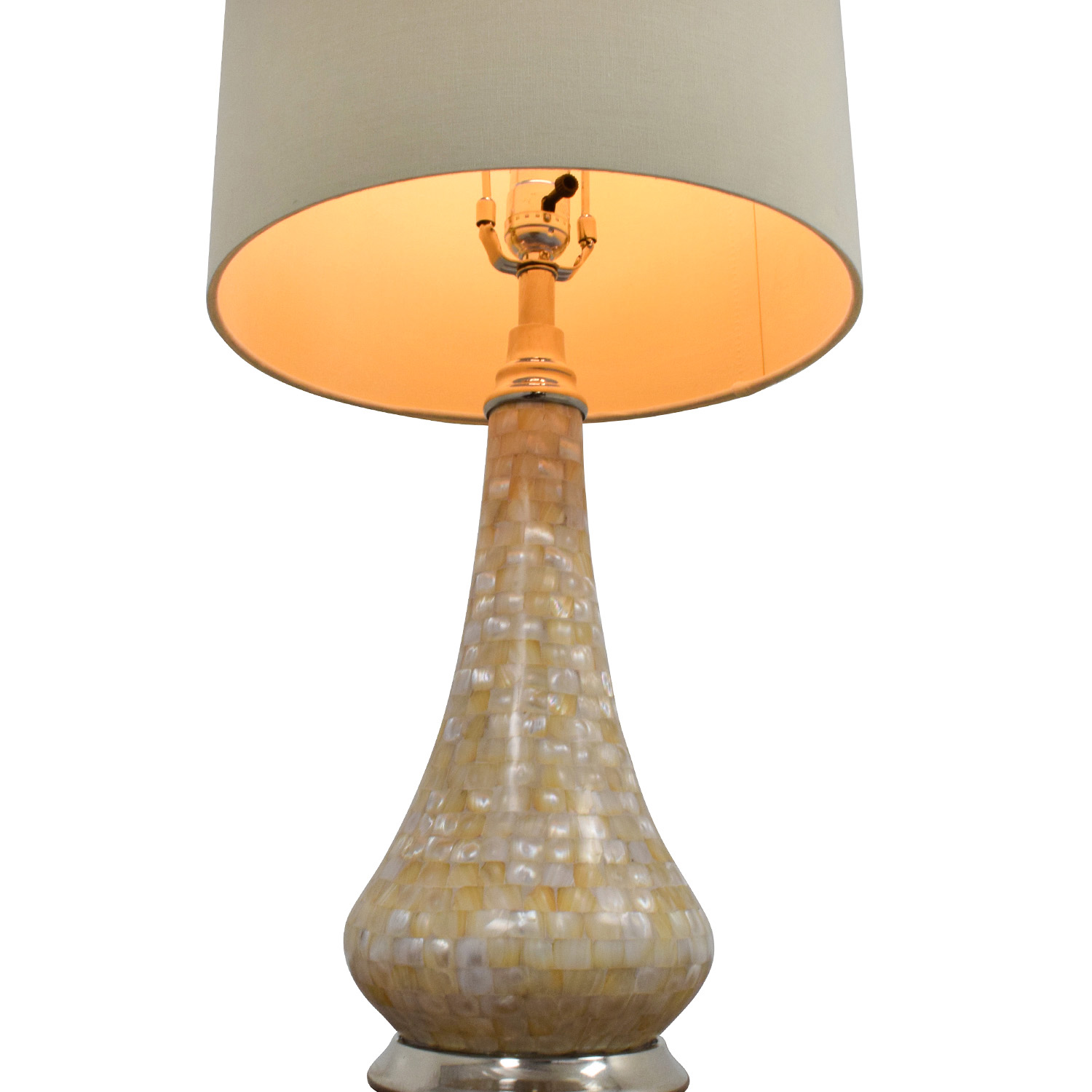 Pier 1 Imports Pier 1 Imports Mother-of-Pearl Accent Lamp discount