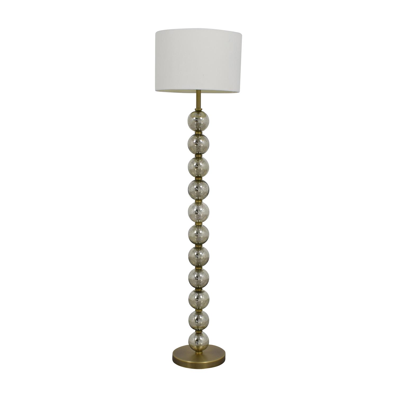buy IKEA IKEA Modern Brass Accent Floor Lamp online
