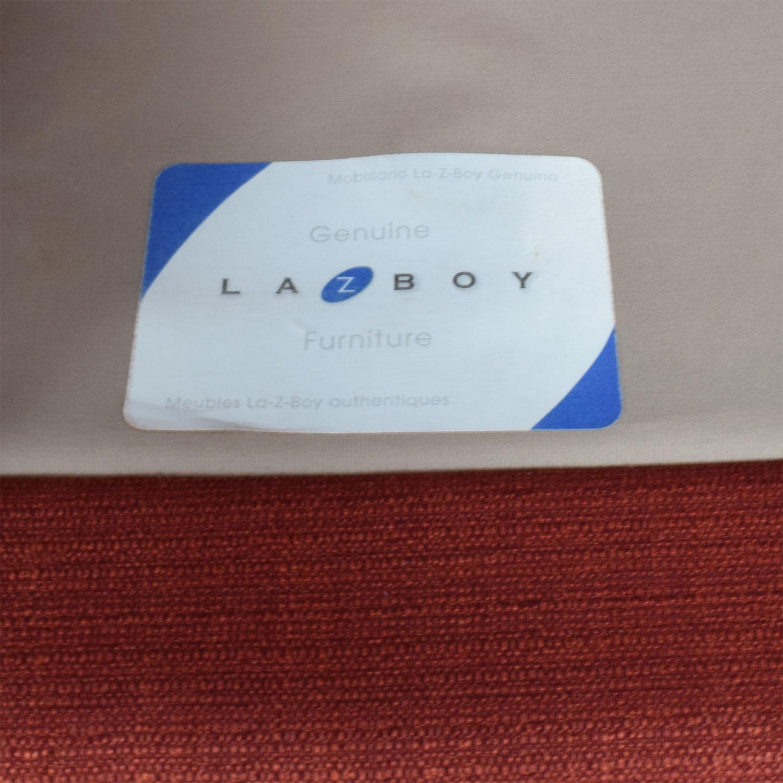 shop La-Z-Boy Laurel Premier Red Sofa La-Z-Boy Sofas