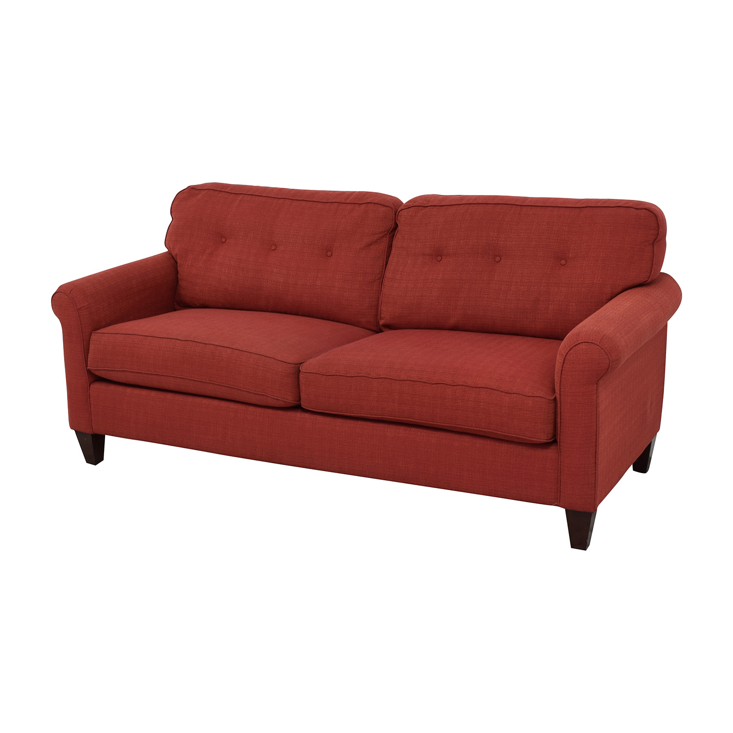 80% OFF La Z Boy La Z Boy Laurel Premier Red Sofa Sofas