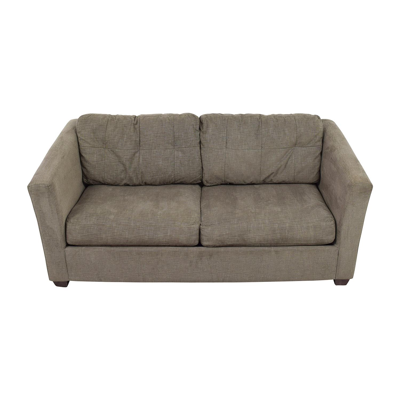 Bauhaus Bauhaus Grey Queen Sleeper Sofa nj