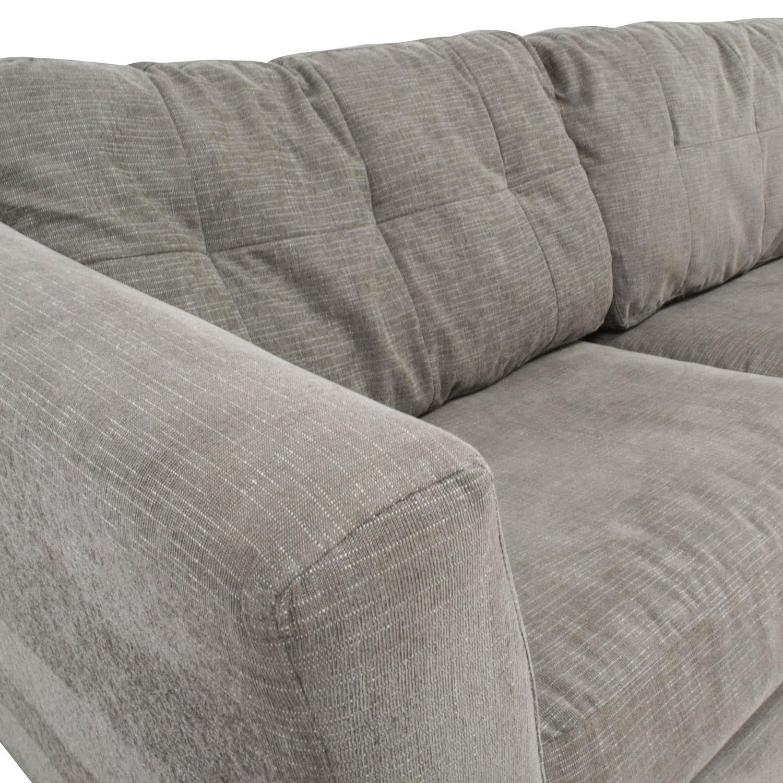 Bauhaus Grey Queen Sleeper Sofa / Classic Sofas
