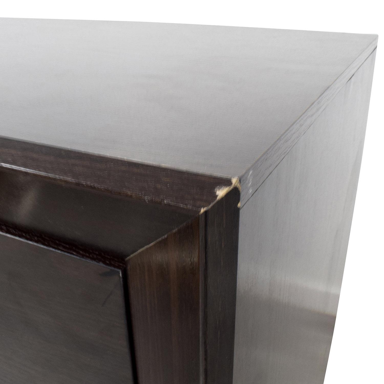 Dark Wood Six-Drawer Dresser discount