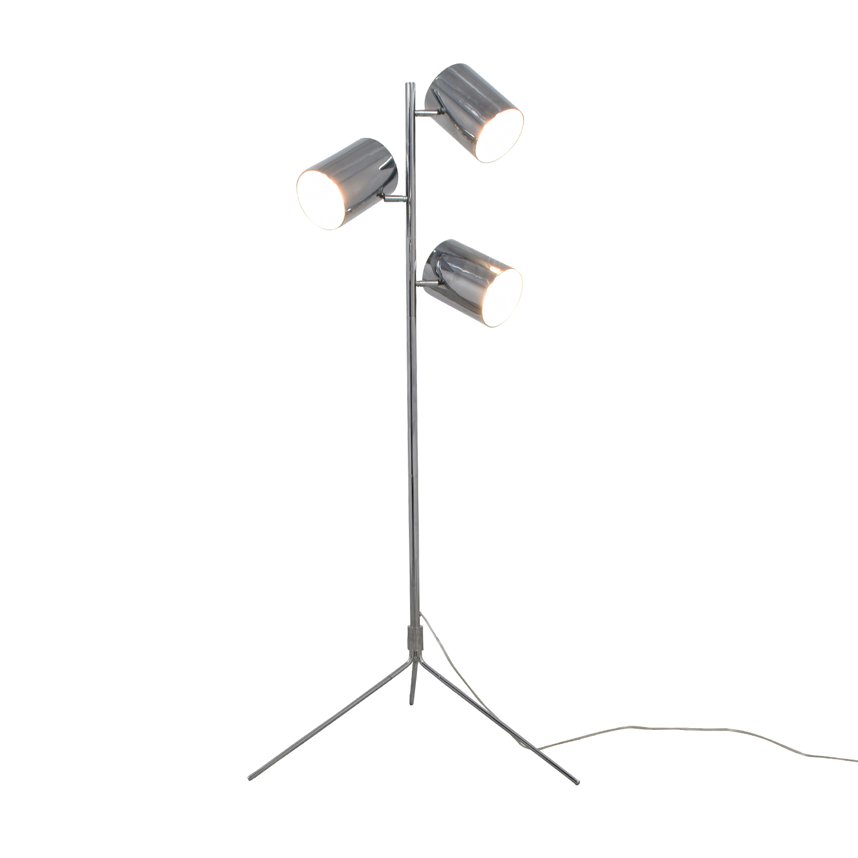 Three-Light Silver Spotlight Lamp on sale