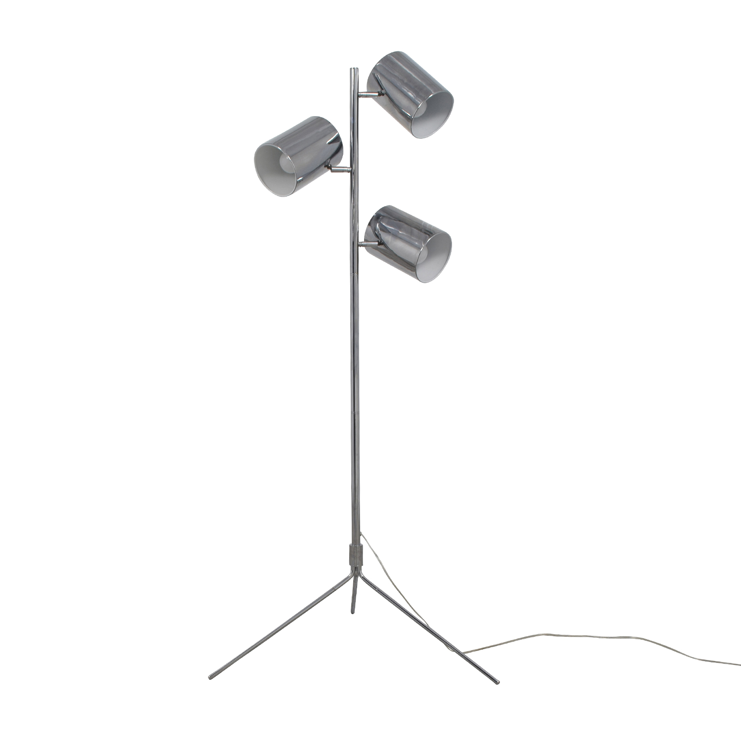 buy Three-Light Silver Spotlight Lamp online
