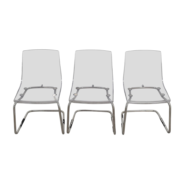 Modern Acrylic Chairs nyc