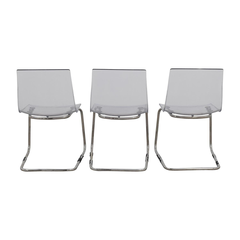Modern Acrylic Chairs Chairs