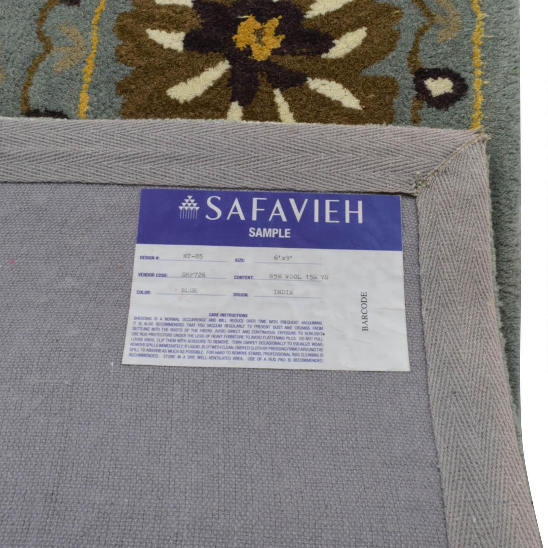 buy Safavieh Pale Blue Wool Rug Safavieh