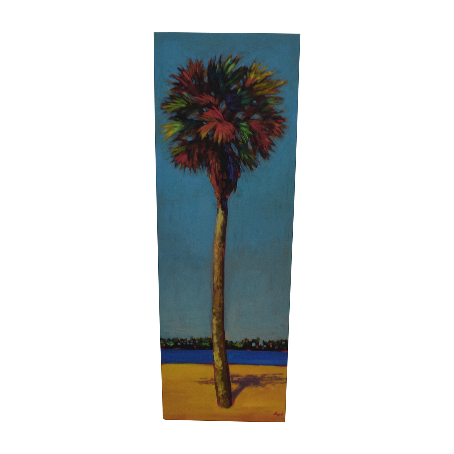Coconut Palm Painting used