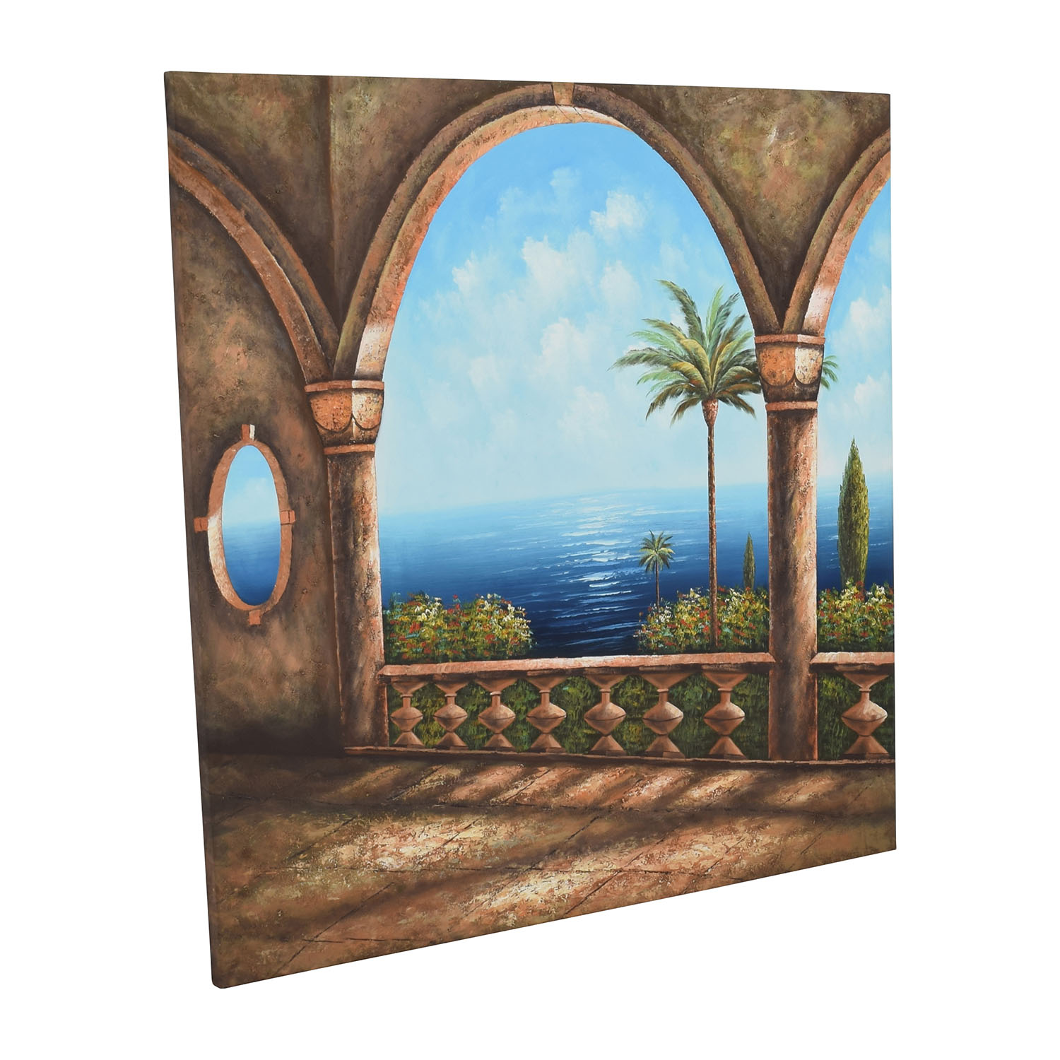 Caribbean Canvas Ocean Painting Wall Art