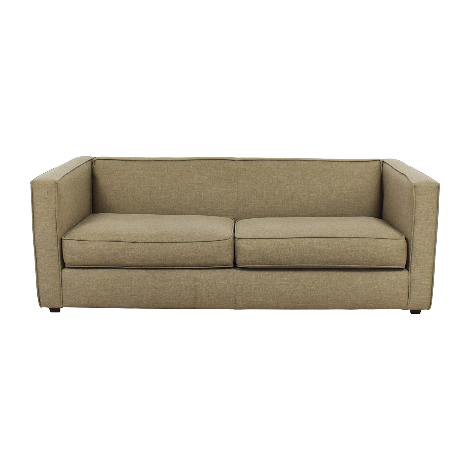 Cb2 Club Sofa In Brown Sofas