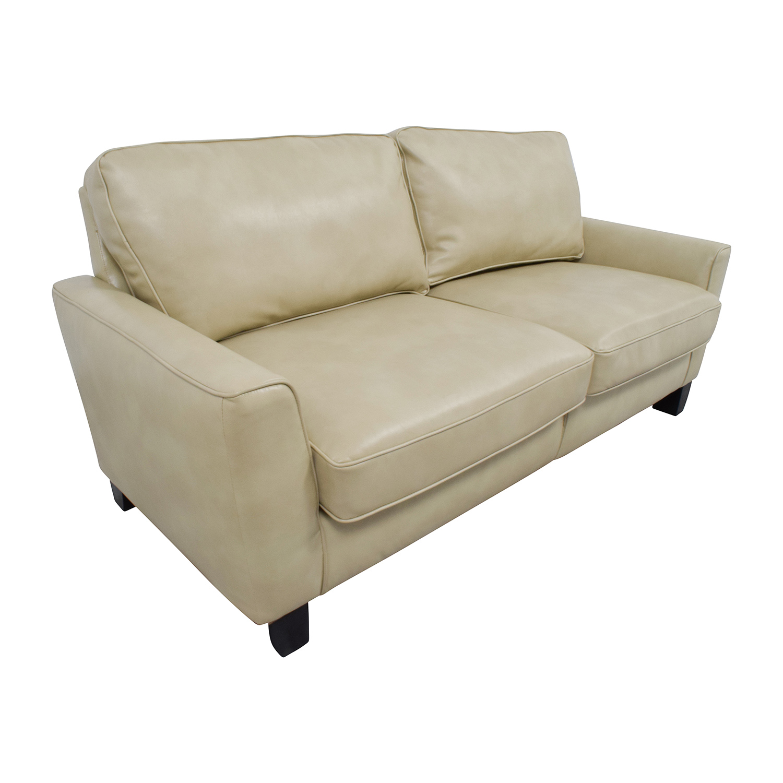 buy Serta Serta Astoria Coated Fabric Sofa in Cannoli Cream online