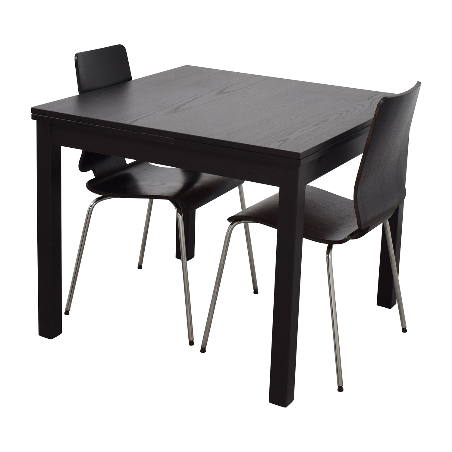 Dining Room Furniture Sets Ikea: IKEA IKEA Three-Piece Dining Set In Black / Tables